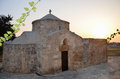 Cypriot Orthodox church steeple stone Royalty Free Stock Photo