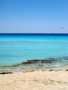 Cyprus beautiful beach of the island Royalty Free Stock Photos