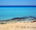 Cyprus beautiful beach of the island Royalty Free Stock Photography