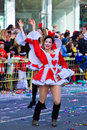 Cyprus carnival, full of colors and fun Stock Images