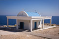 Cyprus chapel agii anargiri in agia napa Royalty Free Stock Images