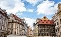 Czech architecture Royalty Free Stock Photo