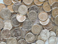 Czech coins currency czk useful as a background money concept Stock Photo