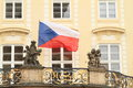 Czech flag Royalty Free Stock Photo