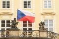 Czech flag Royalty Free Stock Photo