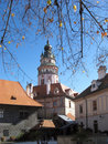Czech Krumlov - UNESCO Stock Images