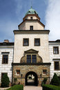 Czech Republic castle Castolovice Royalty Free Stock Image