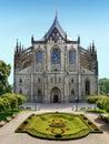 Czech Republic, Kutna Hora, UNESCO Royalty Free Stock Photo