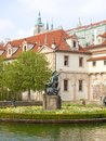 Czech Republic, Prague - Baroque Wallenstein Garden Royalty Free Stock Photo