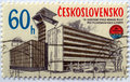 Czech stamps Royalty Free Stock Image