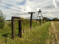 Czechoslowak iron curtain in south moravia region Royalty Free Stock Image