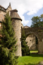 The czocha castle in poland a seclude nook is defensive village southwestern it Stock Image