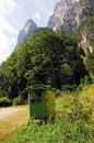 Czyścić góry Fotografia Stock