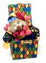 Dźwigarki pudełkowata zabawka Zdjęcie Stock