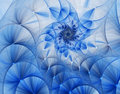 3d abstract fractal illustration for creative design Royalty Free Stock Photo