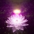 3d abstract galaxy. Royalty Free Stock Photo