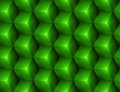 3d Abstract seamless background with green cubes Royalty Free Stock Photo