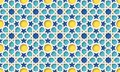 3d arabic background. Islamic geometric pattern. Royalty Free Stock Photo