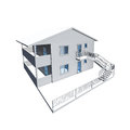 D architecture model of a house Stock Images
