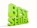 D best sellers icon on a white background illustration Royalty Free Stock Photo