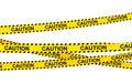 3d caution ribbons