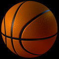 D cgi basketball computer rendered Royalty Free Stock Photography