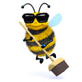 3d Cleaner bee