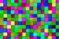 3d colored cubes background, color mosaic. Royalty Free Stock Photo