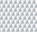 3d cubes seamless pattern ornament