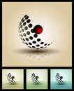 D elements for print and web full editable vector illustration Stock Photos