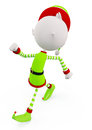 D elves is walking with pose Royalty Free Stock Photo