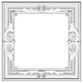 D frame sculptural form white background Stock Photography
