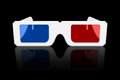 3D Glasses Icon Royalty Free Stock Photo