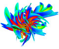 3D Illustration Of Abstract Sp...