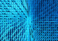 3D illustration of Binary digital code abstract background.