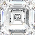 3D illustration macro white gemstone expensive jewelry diamond