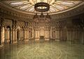 3d Illustration Oriental Palace Royalty Free Stock Photo