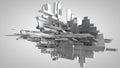 3D Illustration Of Three-dimen...