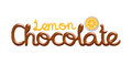 D lemon chocolate logo design i did in software Royalty Free Stock Photography