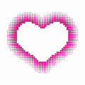 D love love heart modern design of symbol of Royalty Free Stock Image