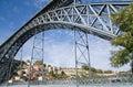 D. Luis Bridge Royalty Free Stock Image
