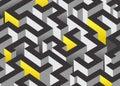 3D maze design