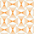 D orange striped pin will rectangles seamless geometric background pattern with realistic shadow and cut out of paper effect Stock Image