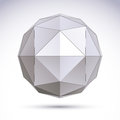 3D Origami Abstract Object, Ve...