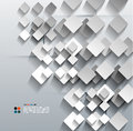 D paper rhomb vector modern design this is file of eps format Royalty Free Stock Images