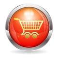 Shopping Cart Button Royalty Free Stock Photo