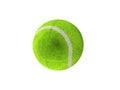 3D render of a green tennis ball