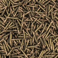 D render of hundreds of rifle bullets Royalty Free Stock Photography