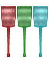 D render of a set of fly swatters on white Royalty Free Stock Photo