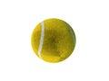 3D render of a yellow tennis ball